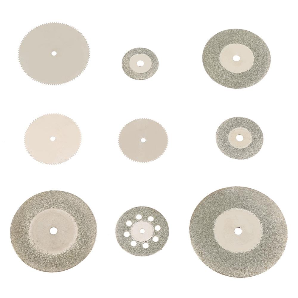 37pcs Diamond Stainless Steel Cutting Disc Saw Blades Tools Kit
