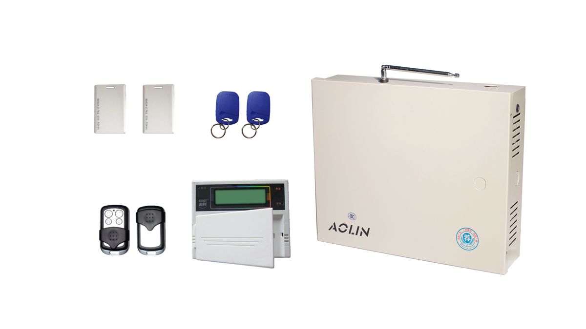 Aolin LED Display Mobile Remote Control System Mobile Phone Site Monitoring Home Alarm System