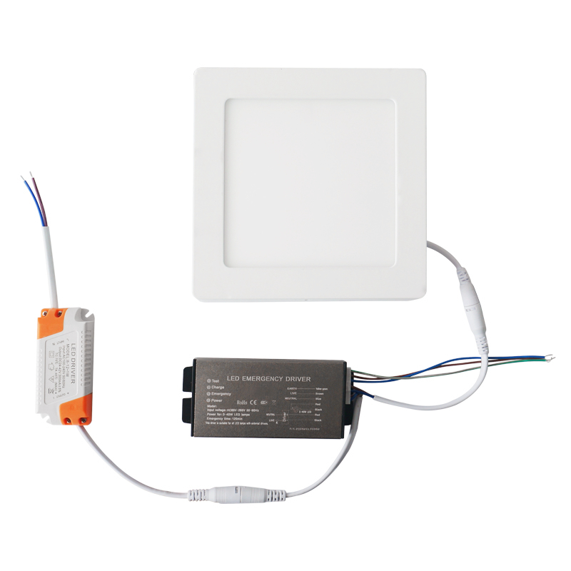 Direct Source LED Lamp Automatic Emergency Device Kit for Down Light and Panel Light LED Emergency Driver FATLEDF1A