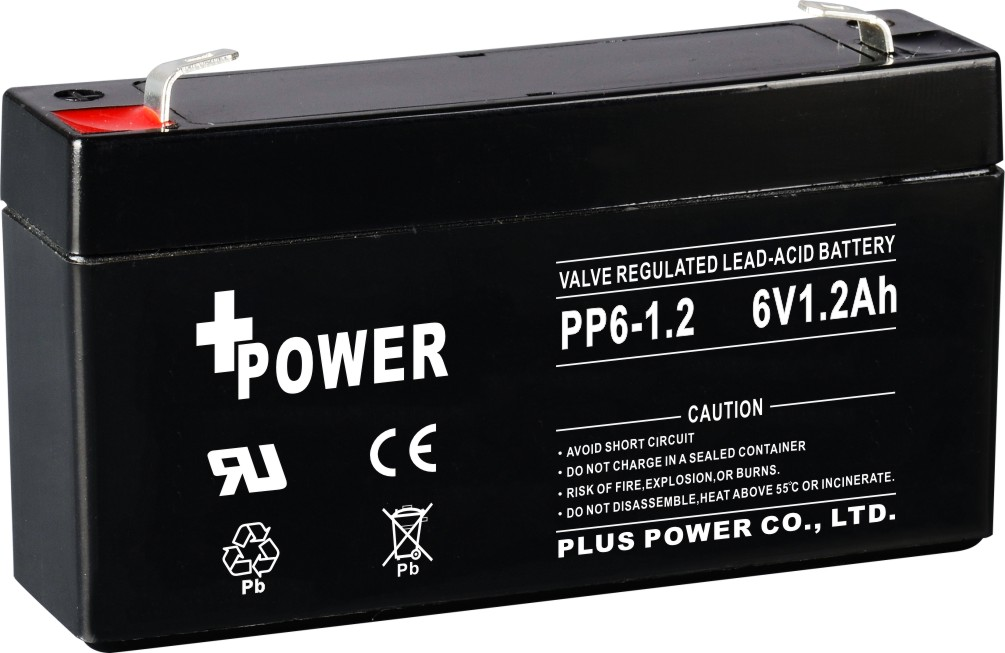 6V12Ah rechargeable batteries