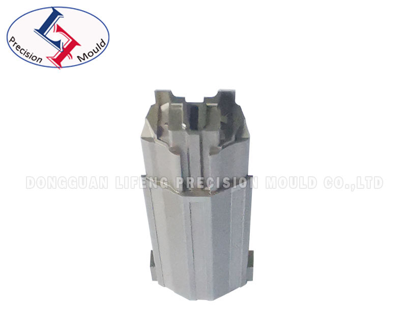 Precision connector mold part with EDM precision within 0005mm