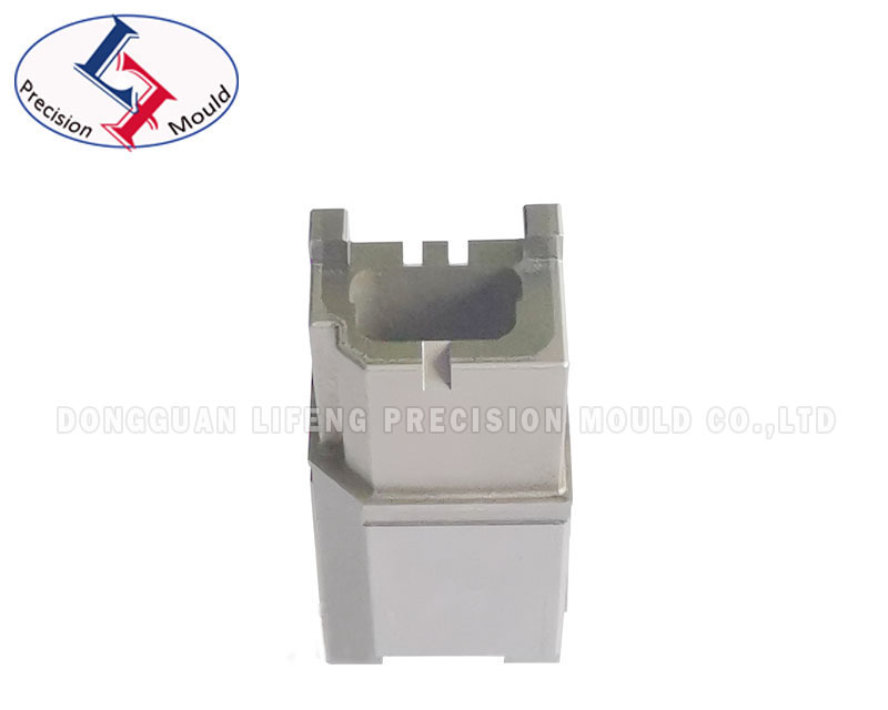 Precision connector mold part with wire cut tolerance 0002mm