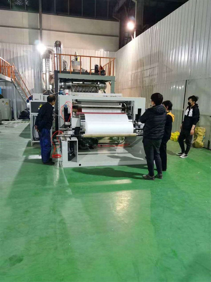meltblown fabric production line