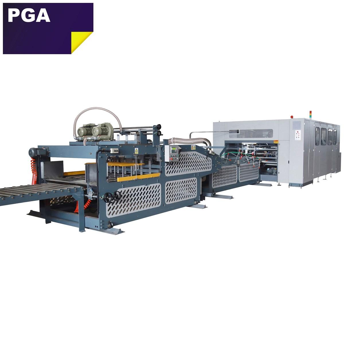 High productivity corrugated carton box folder stitcher machine for industry carton box