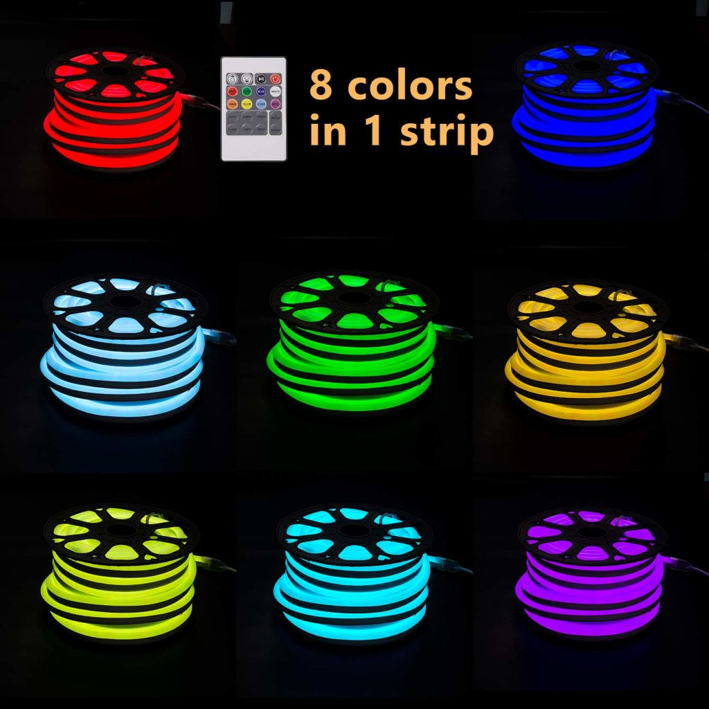 ETL CE 14mm Round Flexible LED neon light