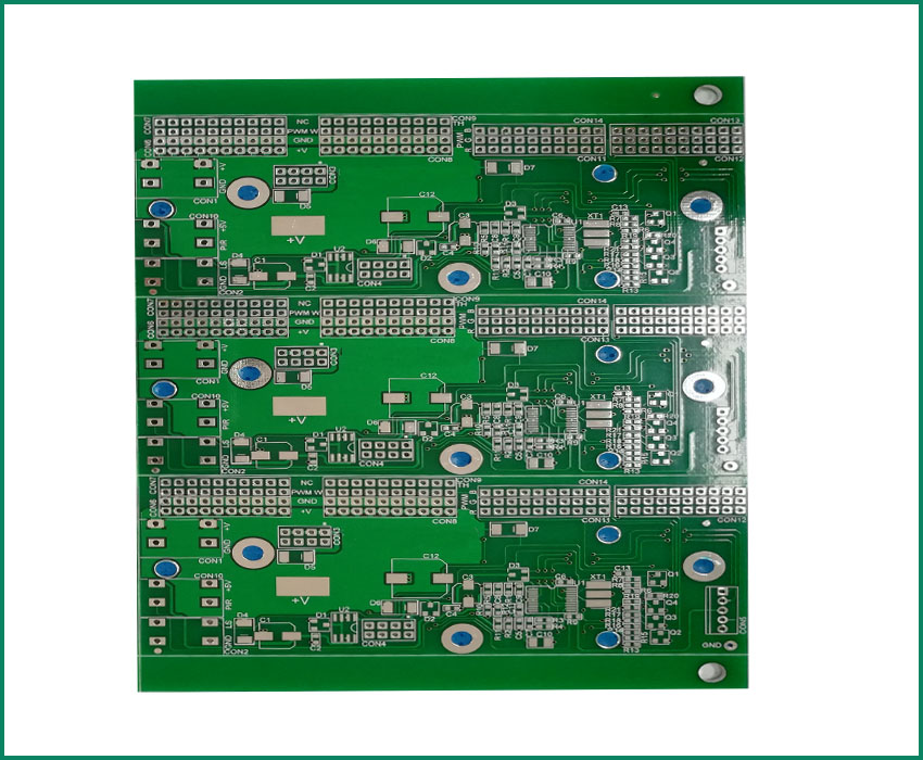 Peelable Impedance Control Fr4 Multilayer PCB Sample PCB Circuit Board Supplier