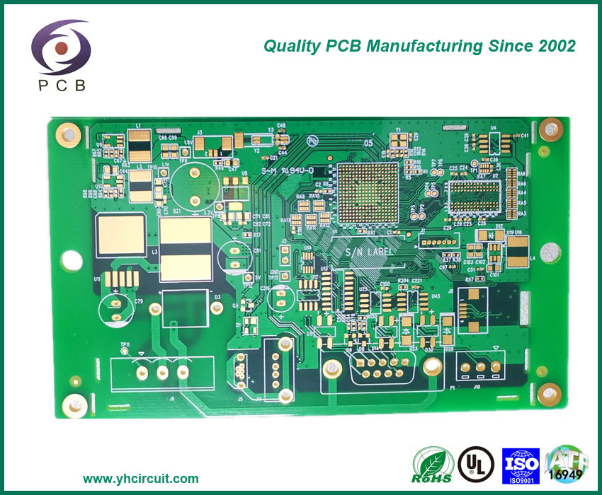 6 Layer HDI Circuit board Control PCB Board Multilayer PCB Factory Offers Multilayer Circuit Boards