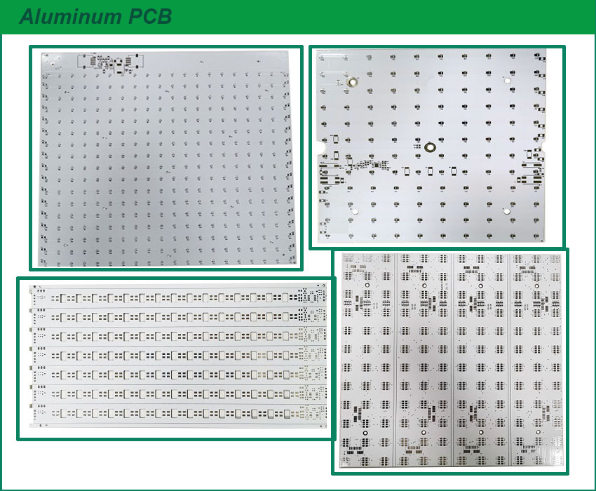 Aluminum LED PCB lamp Circuit Board MPCB LED Strip PCB Shenzhen PCB Manufacturer