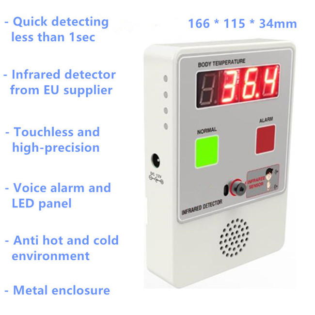 Touchless Body Temperature Detector Mini Box Infrared Thermometer
