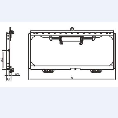 Forklift Truck Attachment Sideshifter