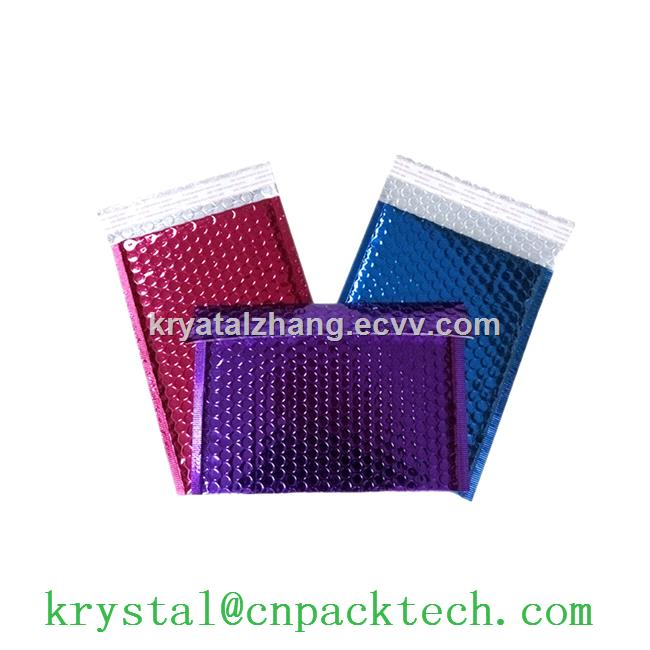 Custom Design Logo Colored Printed Poly Bubble Mailers Shipping Envelopes Bags