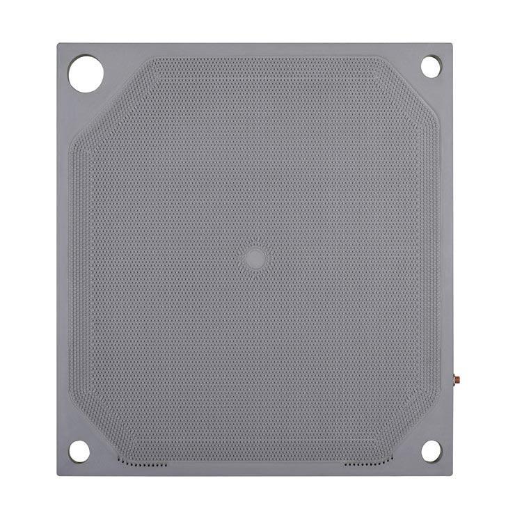 GLOBAL JINWANG Virgin PP 800mmx800mm Corner Feed Membrane Plate