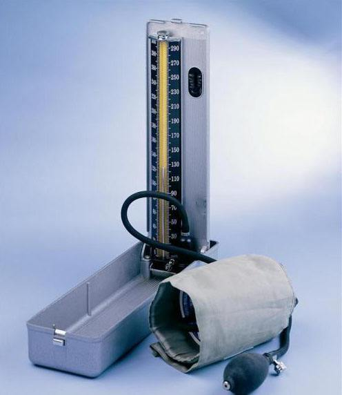 Mercury blood pressure measuring instrument