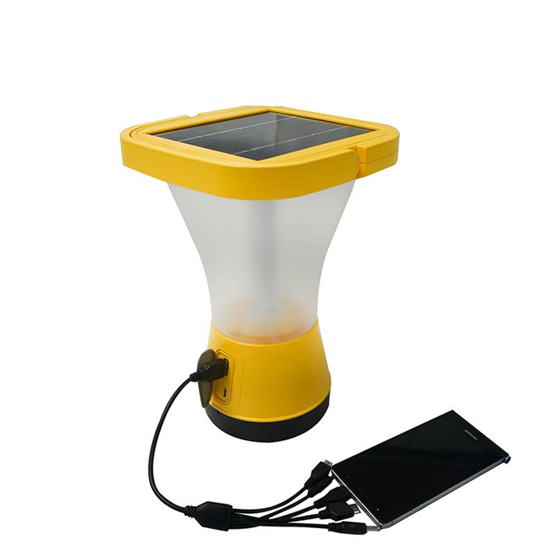 360 Degree Solar Lantern with Phone Charging