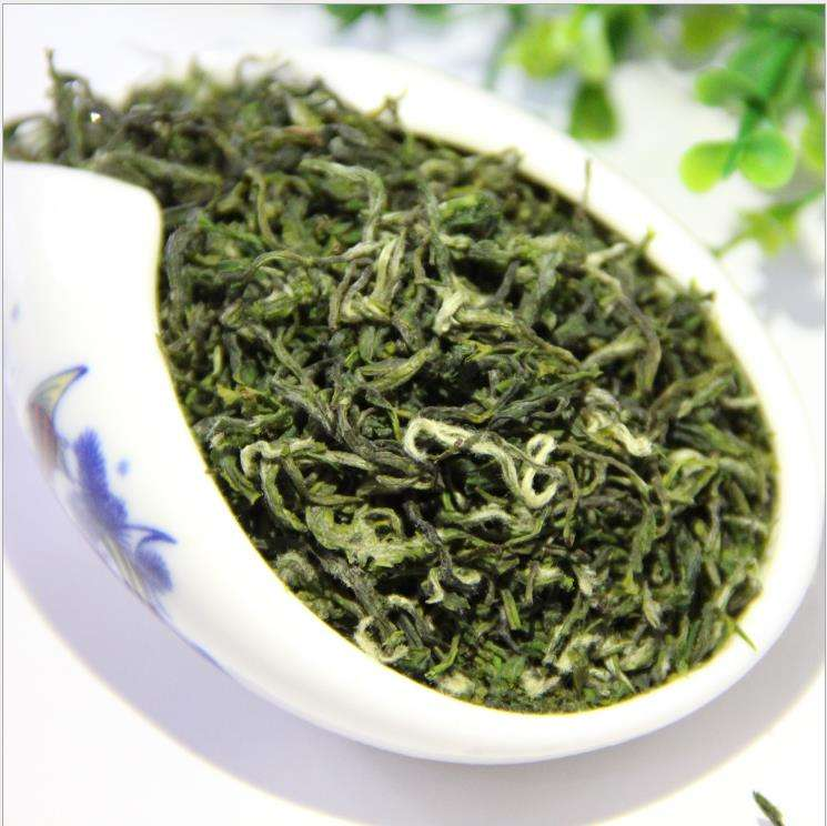 Authentic process premium bulk excellent green tea with luzhouflavor buds and hairy tips
