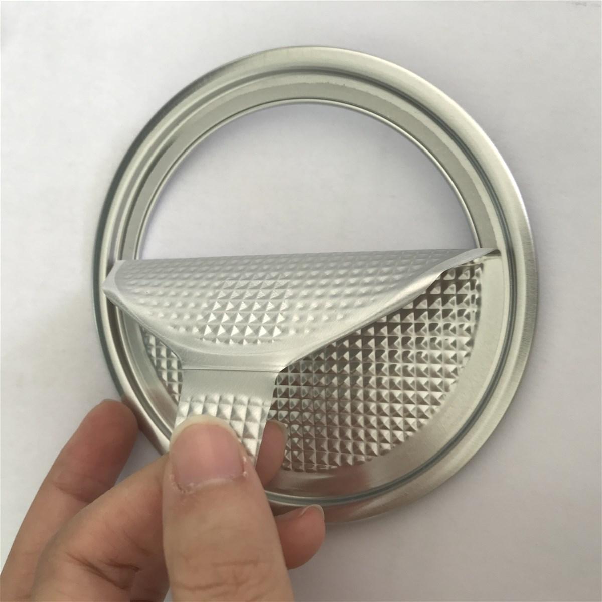 Easy Peelable Ends Peel foil lids EPE