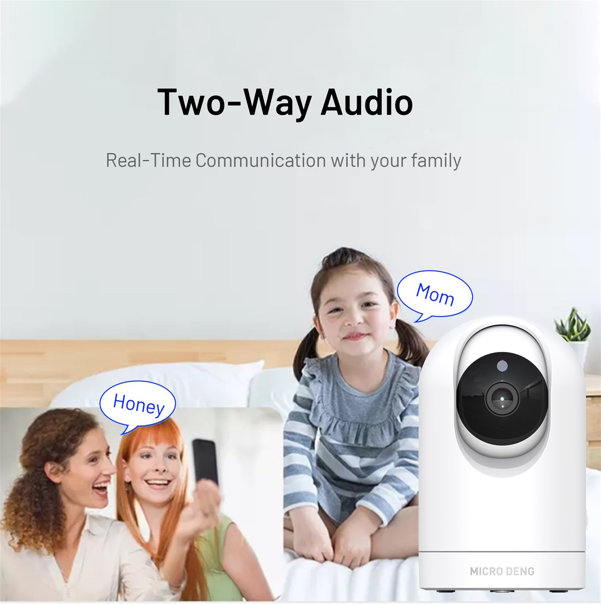 MICRO DENG Smart camera Wireless Outdoor PTZ IP home smart