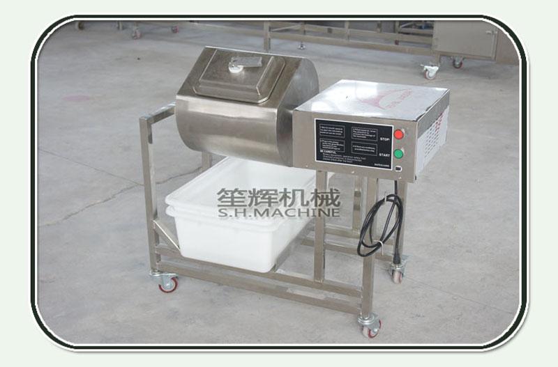 Large vacuum meat curing machine