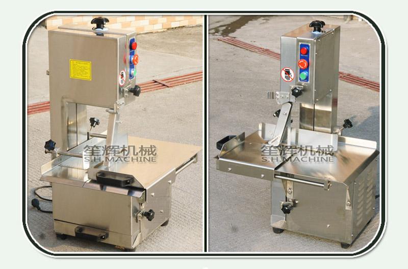 Commercial frozen meat bone sawing machine