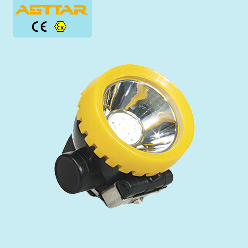 KL12Ex portable led mining headlamp and miners cap lamp