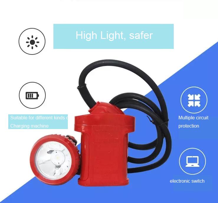 Asttar UL Certified KL4LMB mining led head lamp
