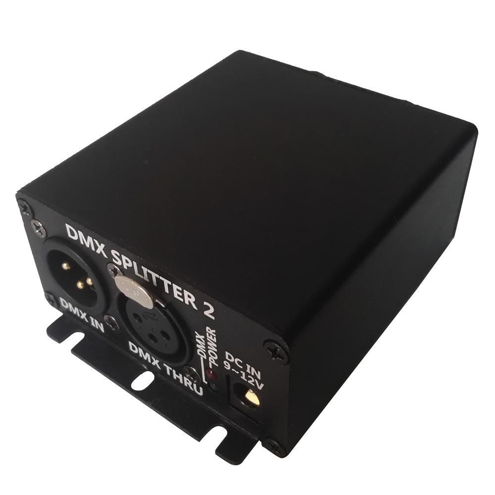 2 Way Mini DMX Splitter Summitlite DMX distributor