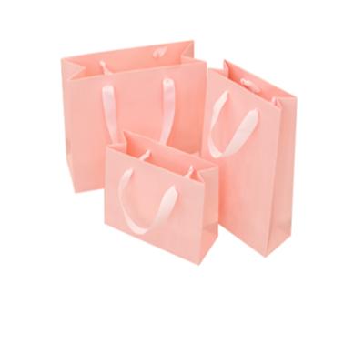 Plain White Paper Apparel Promotion Retail Paper Bag