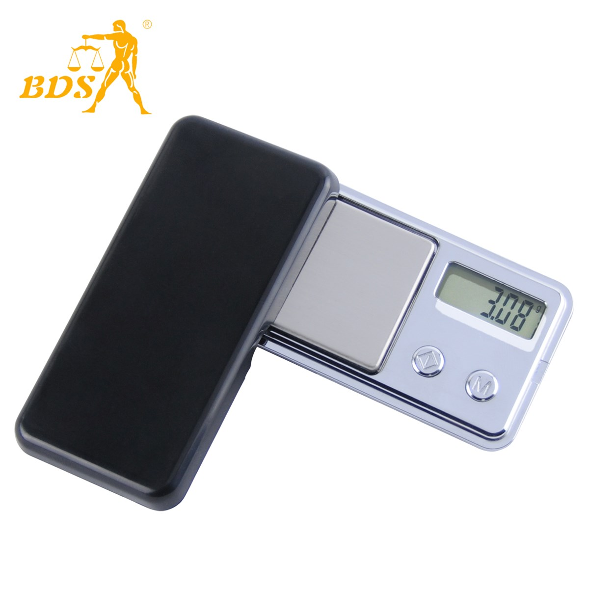 Lighter high precision jewelry pocket electronic scale
