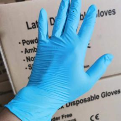Disposable Nitrile GlovesPowder FreeNonsterile CE Certificate and FDA SGS Test report Medical Examination