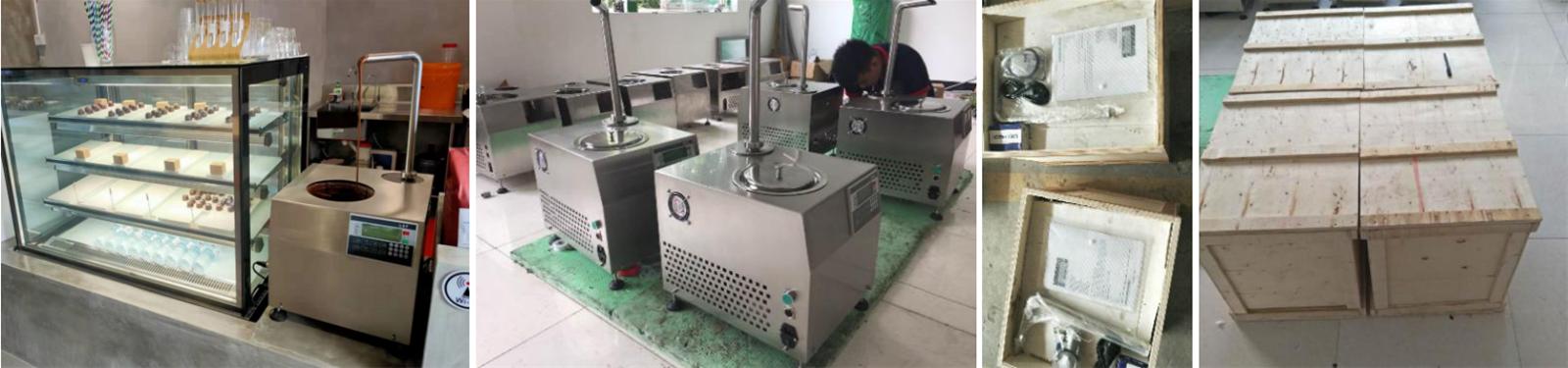 55L Mini Chocolate Tempering Dispensing Machine Machines