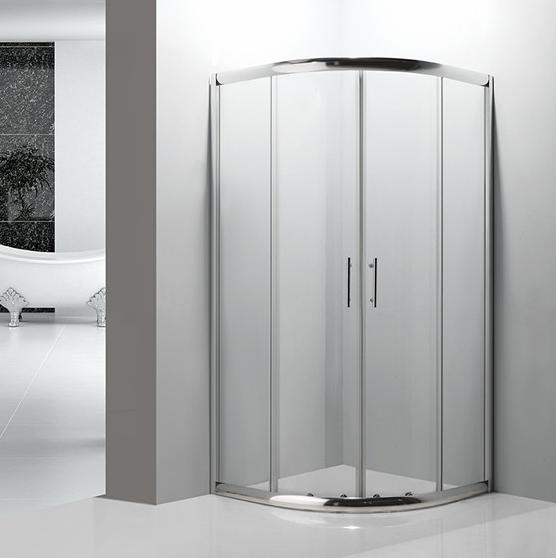 tempered glass round shower enclosure 6511