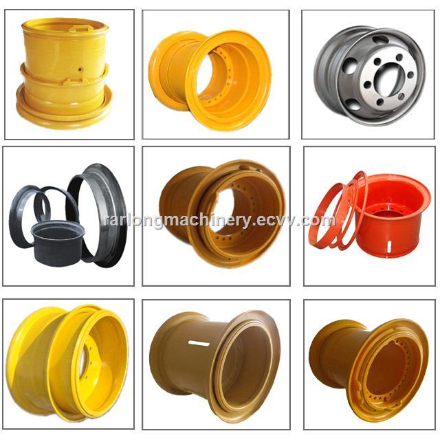 OTR Steel Wheel Rim 4919540 for Kom785CAT777 Rigid Dump Truck