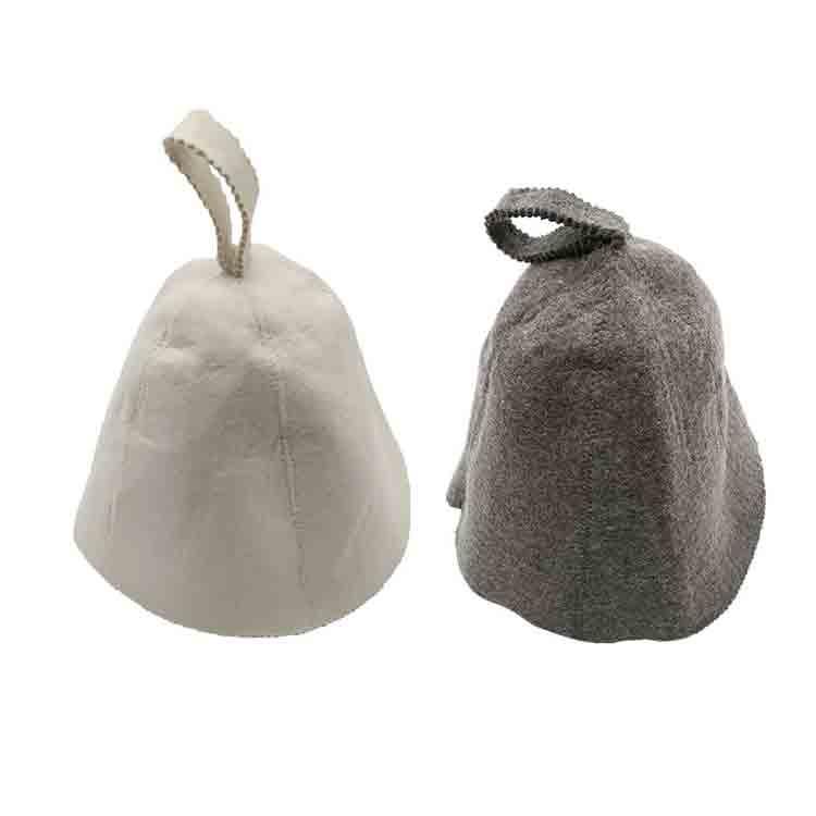 wool felt sauna hat glove mat slipper