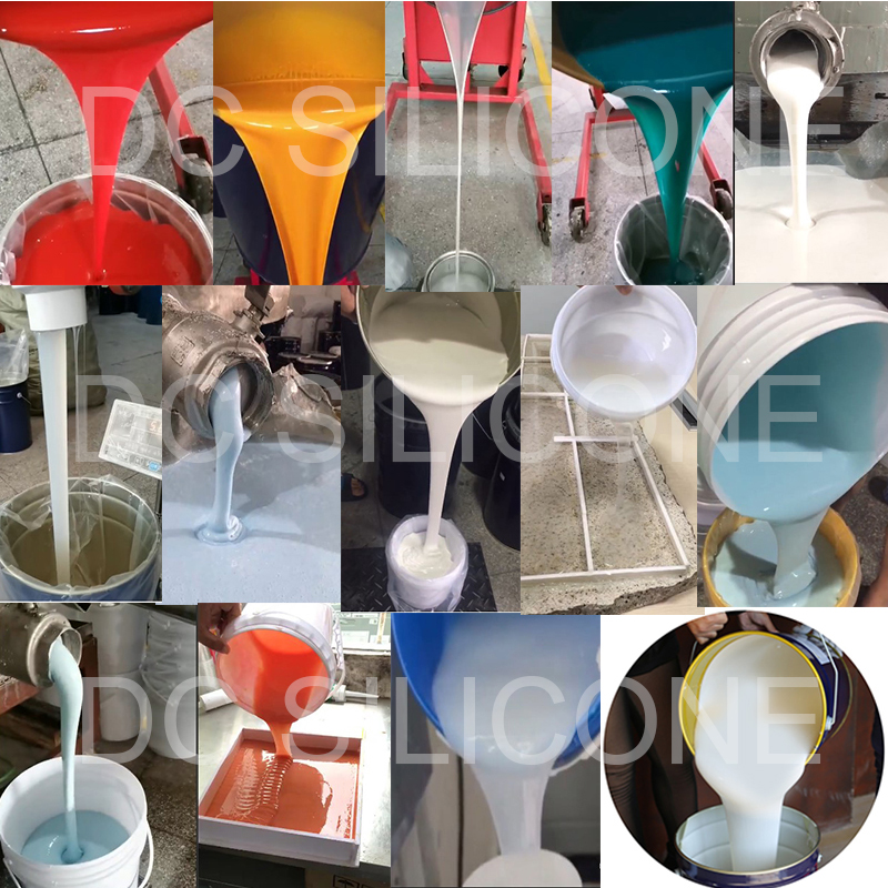 silicone mold for resin epoxy polyester casting resin molds rtv silicone rubber to make mold