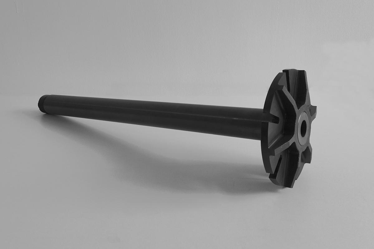 aluminum liquid degassing rotor silicon nitride degassing rotor for die casting aluminum industry furnace rotor
