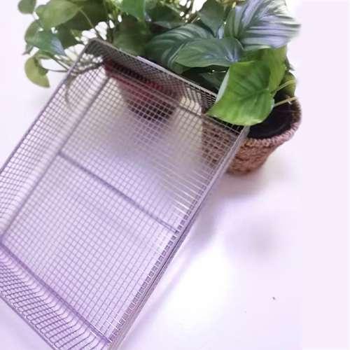 Stainless steel electric weldinghightemperature resistant metal cleaning basket medical disinfection basket spotwel