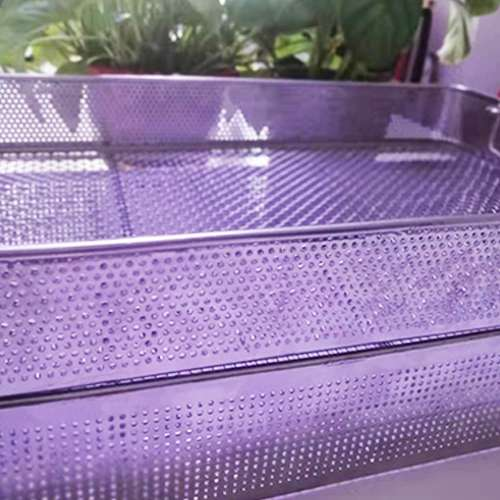 By bending it into a variety of shapes The wire mesh basket and the surface can be polished plastic and plastic