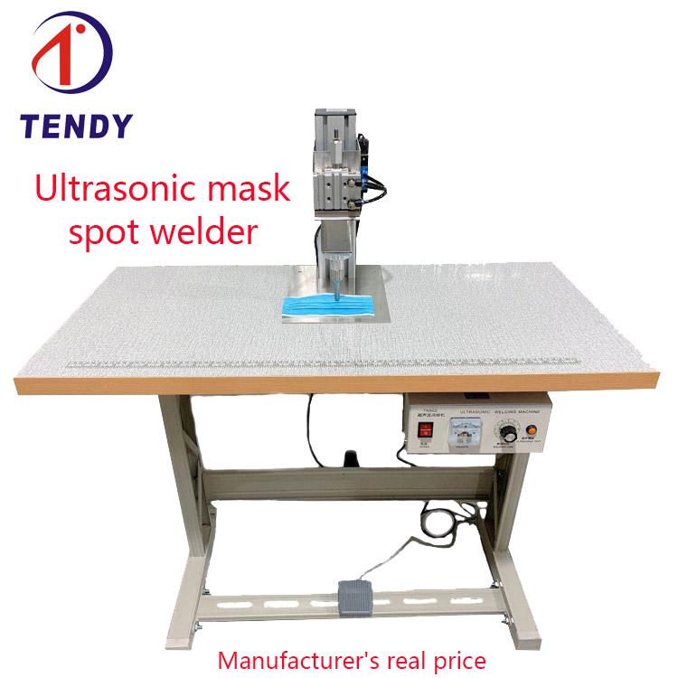 Ultrasonic single spot welde rmask ear band manual welding machine