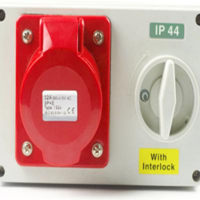 waterproof IP44 IP55 IP67 industrial power distribution box