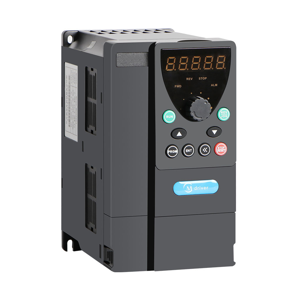 3phase 380V input AC motor 4kw drive 5hp variable frequency inverter VFD converters for spindle motor control