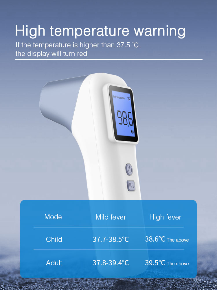 Bluetooth Infrared Thermometer