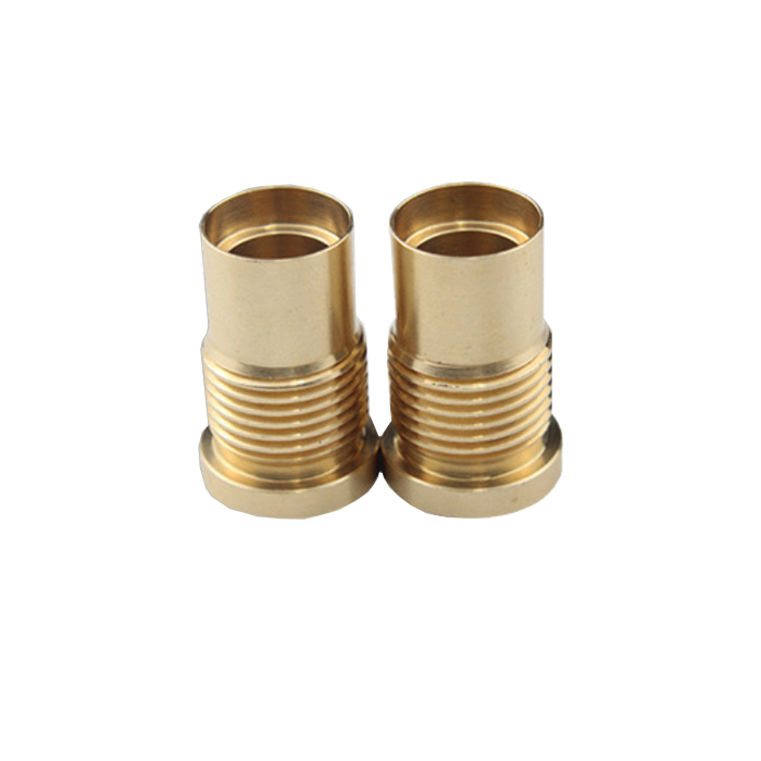 Customize Small Plastic Stainless Steel Thread Round Spacer Bushings non standard screw sleeve for cleaning machine