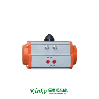 AT type pneumatic actuator for butterfly valve and ball valve