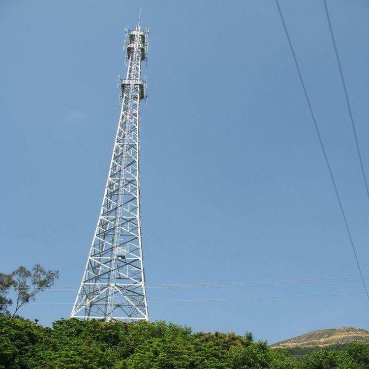Hot Dip Galvanised Angle Steel Telecommunication Tower