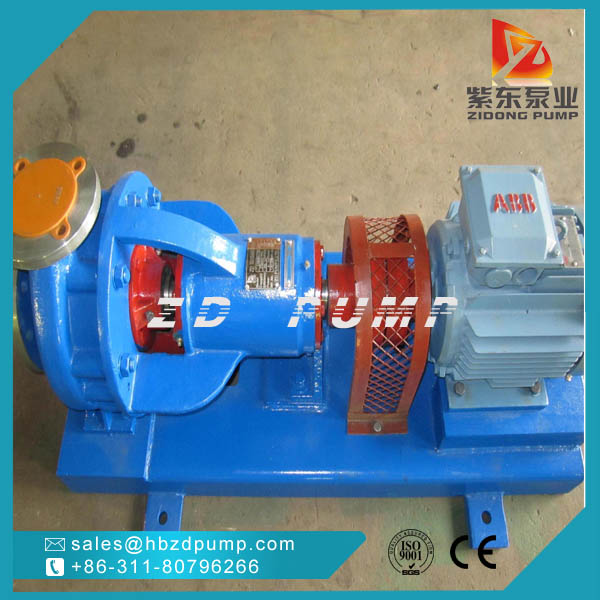 IHK Open Impeller Chemical Pump stainless steel material acid pump