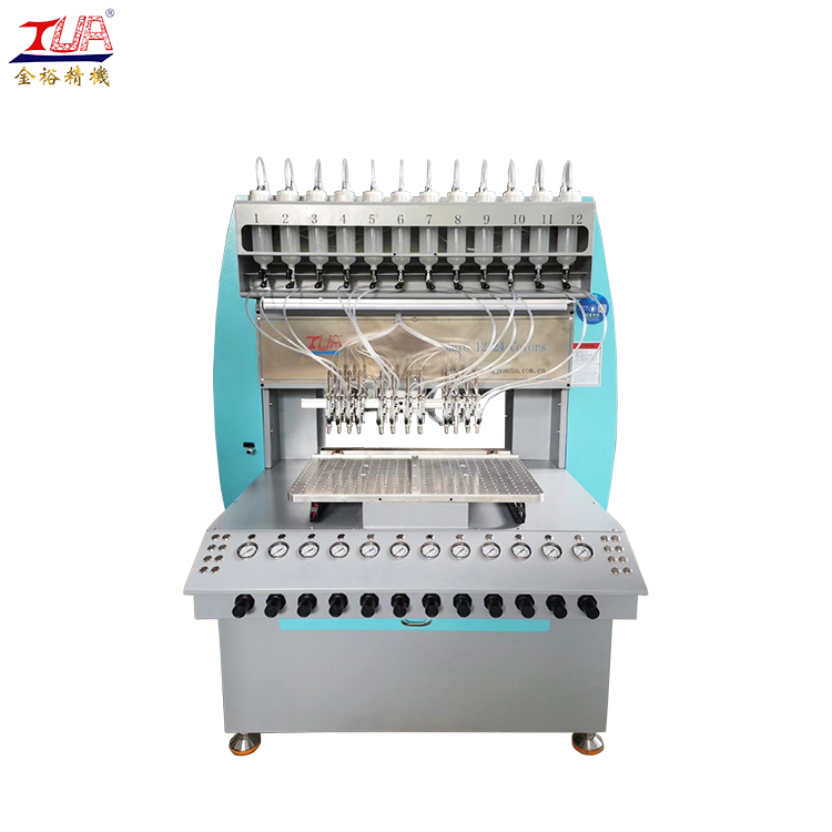 PVC soft gift trademark label making machine factory rubber equipment