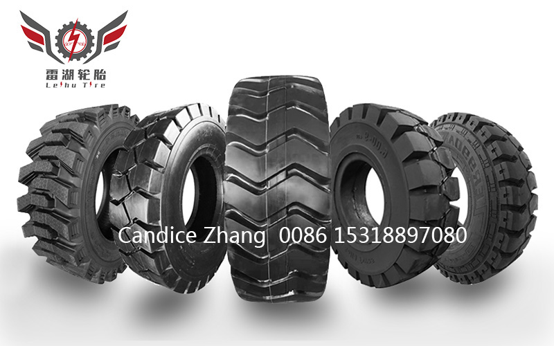 Chinese manufacture Leihu brand OTR tires and forklift tires factory price tire for loader excavator off the road tire