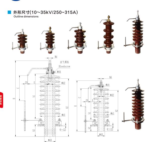 Transformer Din standard electrical porcelain insulator bushing