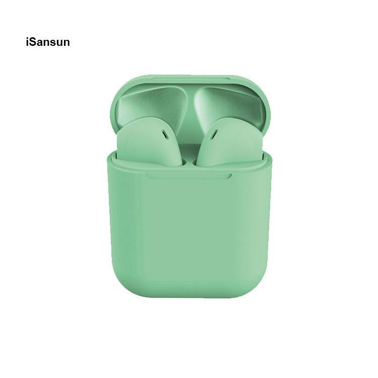 iSansun Hot selling Inpods 12 TWS Sport Wireless Earphone with beautiful colors