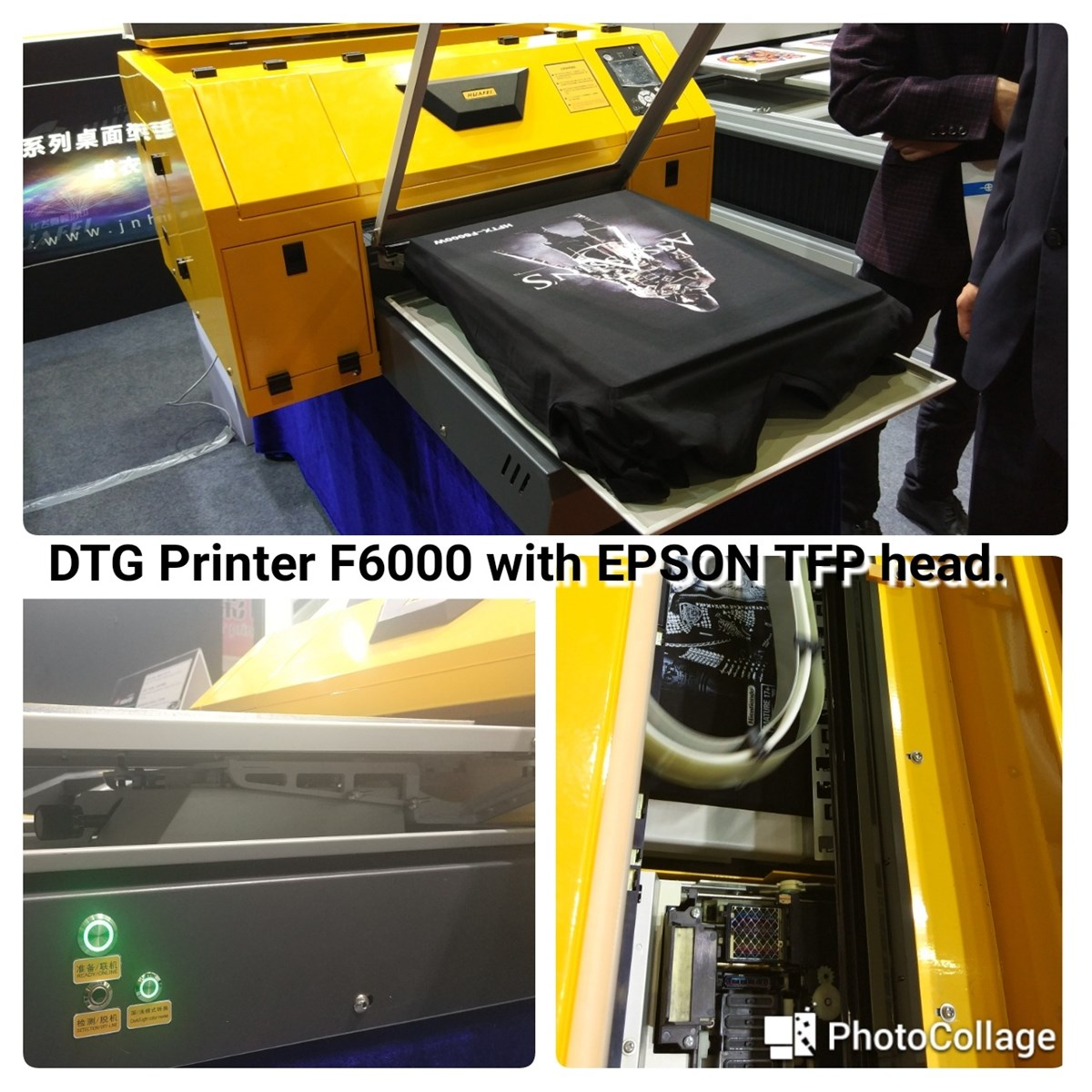 HUAFEI Direct to Garment DTG Printer